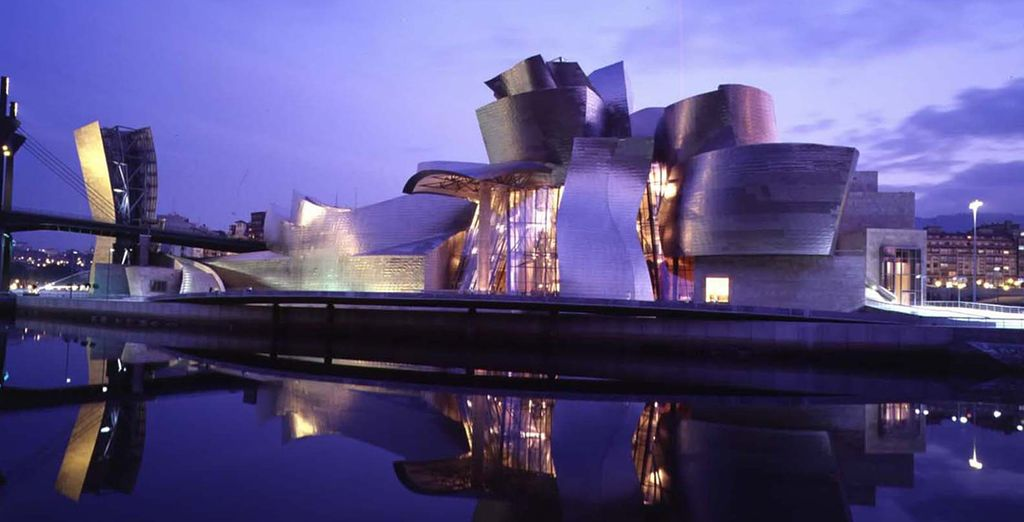 In the art loving city of Bilbao