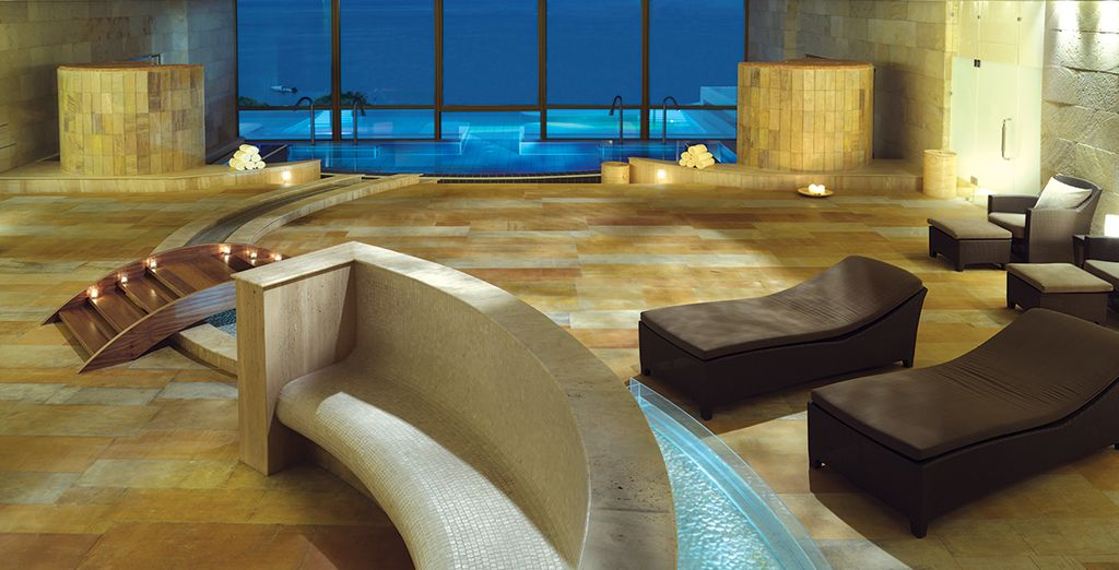 Such as this amazing spa