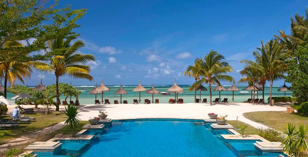 For a luxurious break on Bel Ombre's pristine sands