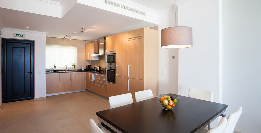 Your apartment has all that you need for a self catering stay