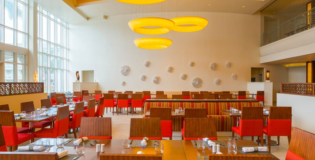 And savour a range of eateries as part of your all inclusive stay