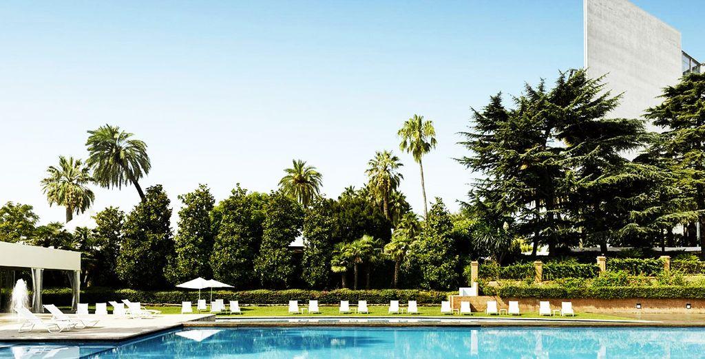 A premium location in Barcelona...