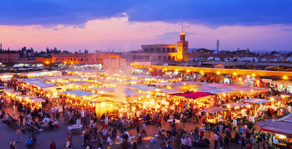And a short drive from vibrant Marrakech....