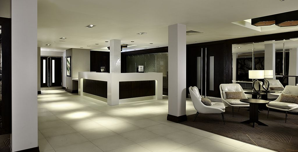 Welcome to your sleek Hilton hotel