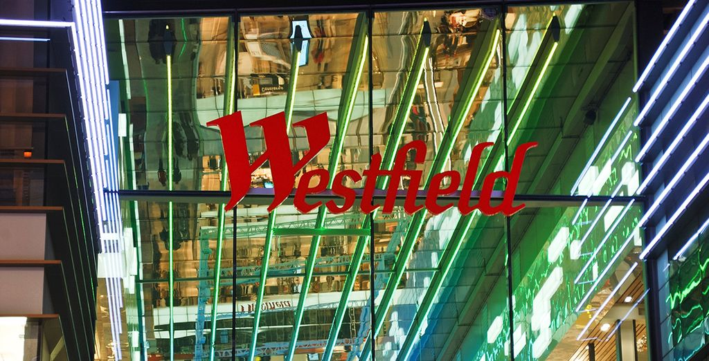 Shop til you drop with your VIP 20% discount at Westfield Shopping Centre