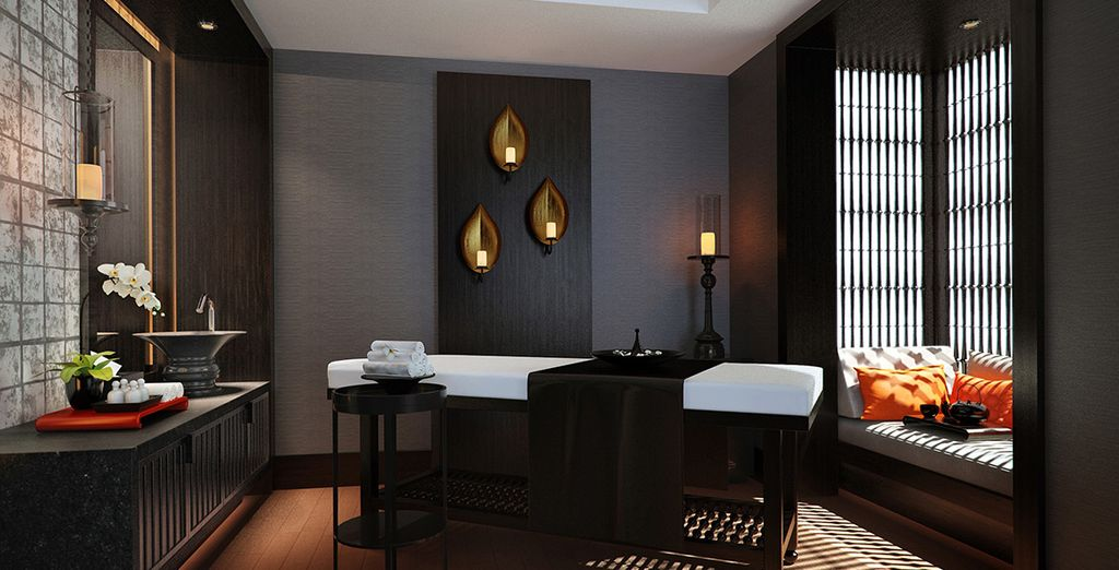 Indulge in a spa massage after sightseeing