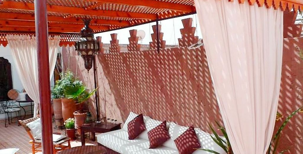 Discover the Riad's calm spaces
