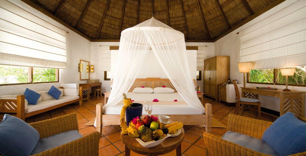 Stay in a great Ocean Villa