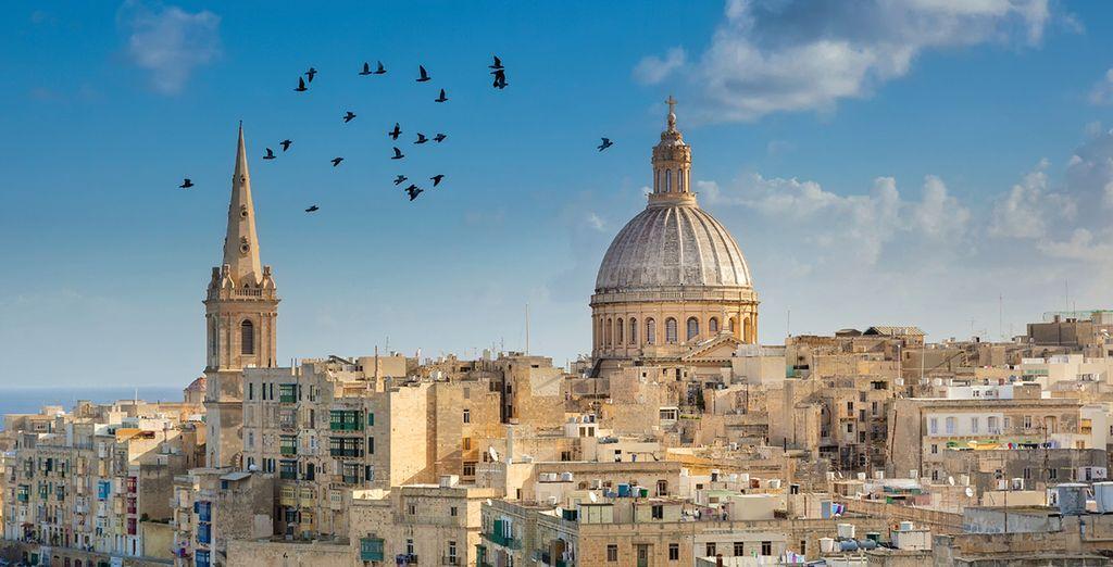 Meander through the majestic grandeur of Valletta
