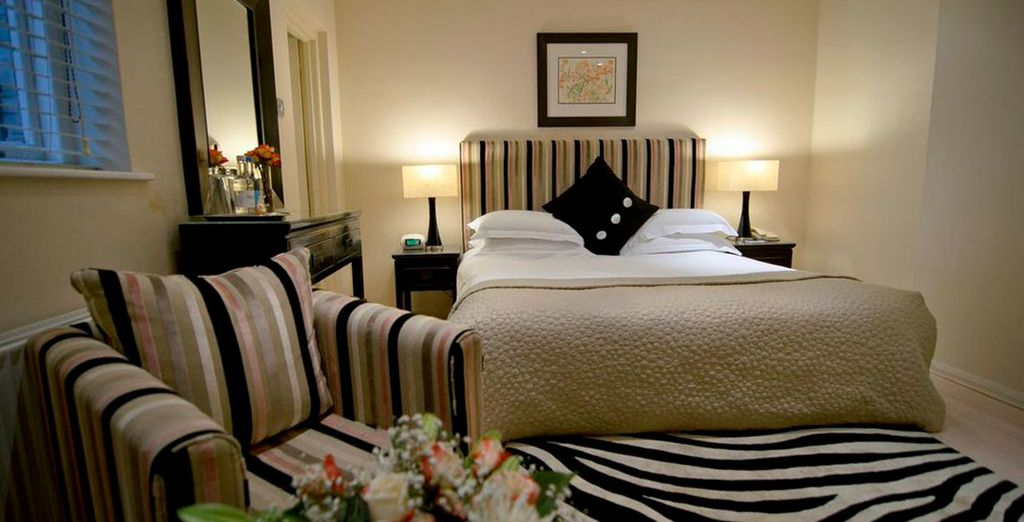 Unwind in lavish style in a Superior Room