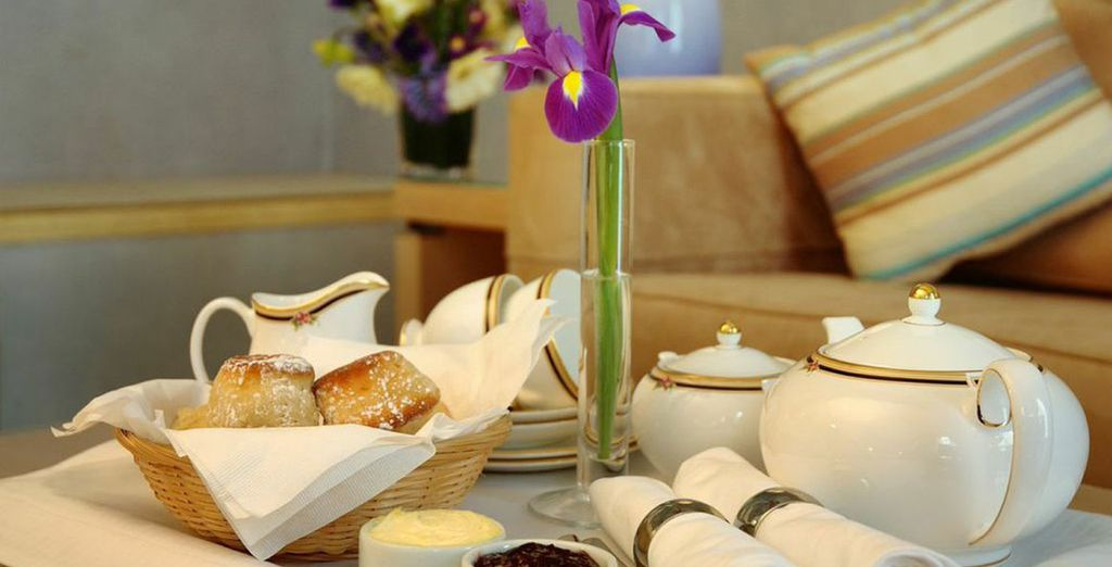 We've also thrown in a complimentary afternoon cream tea