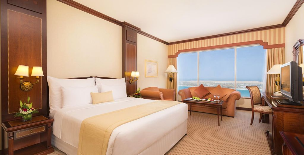 Stay in an upgraded Club Room