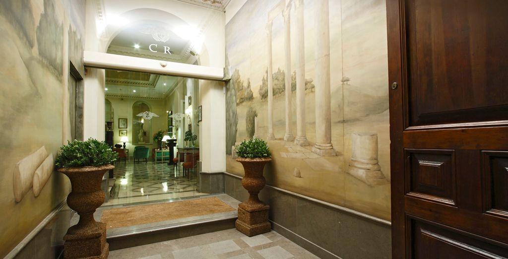 A small, intimate hotel