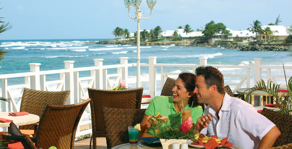 Enjoy delicious dining throughout your stay