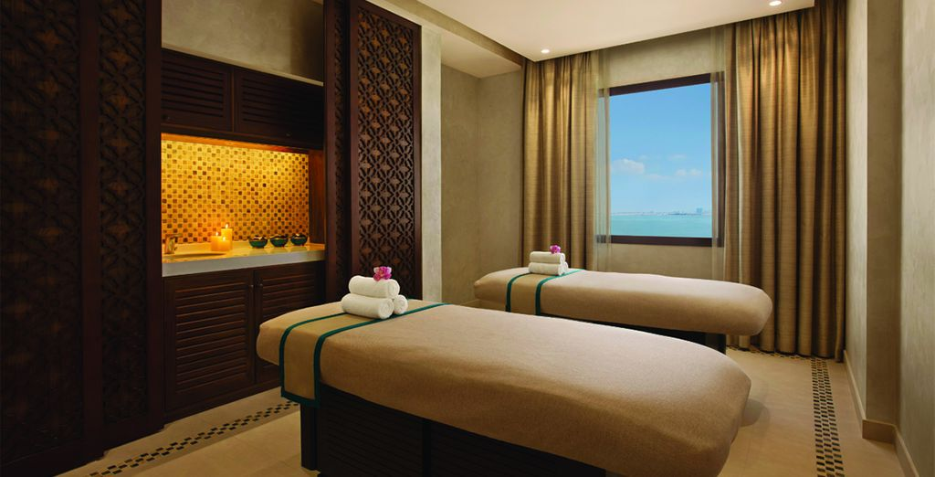 Where you can indulge in a massage