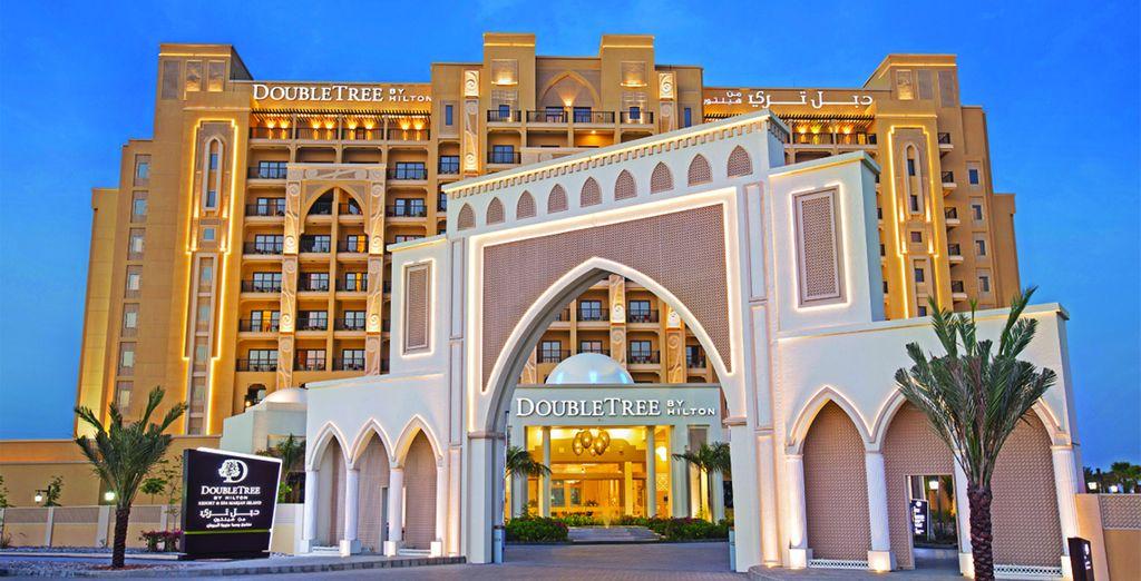 To this 5* Hilton hotel - DoubleTree by Hilton Resort & Spa Marjan Island 5* Ras Al Khaimah