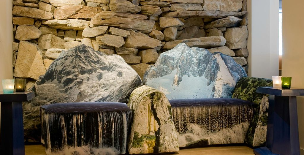 With unique, mountain decor