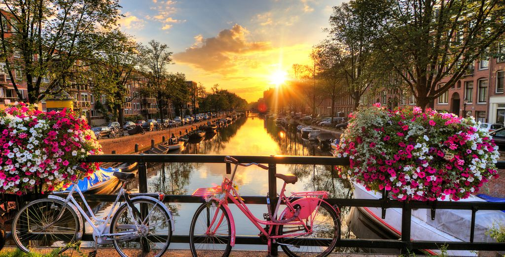 Treat yourself to an enchanting trip to Amsterdam