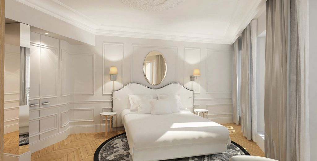 Discover the rooms of this new hotel