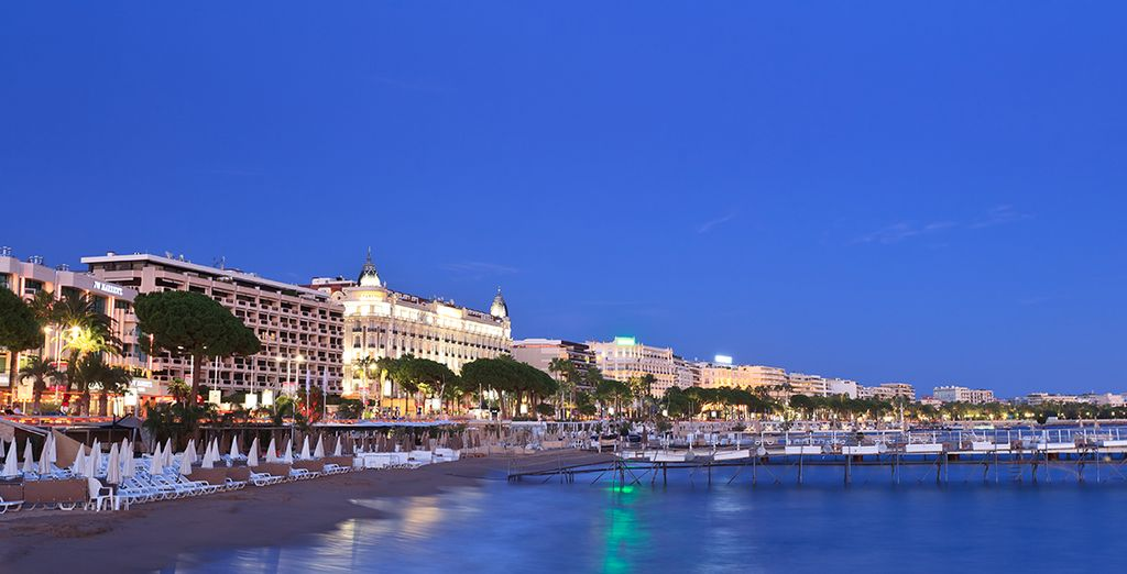 The beaches of Cannes ooze an unparalleled cool