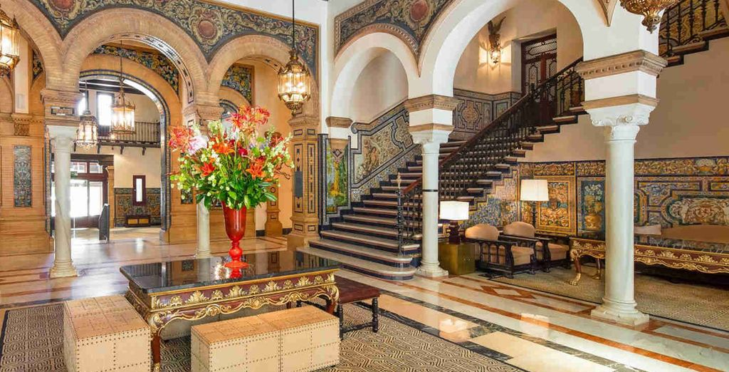 From the moment you arrive you will be greeted by Seville's unique flair for opulence