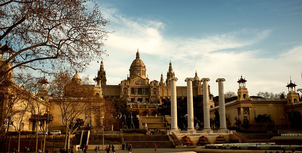 Then head out to discover Barcelona's museums and culture