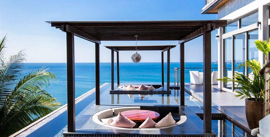 A chic resort
