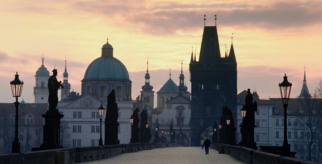 ...And the famous Charles Bridge