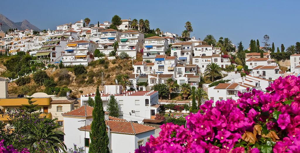 Explore the local colourful town of Marbella
