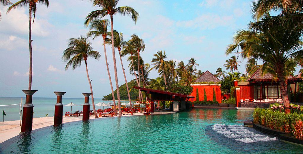 In an incredible beachfront setting - Mai Samui Beach Resort & Spa 4* Koh Samui
