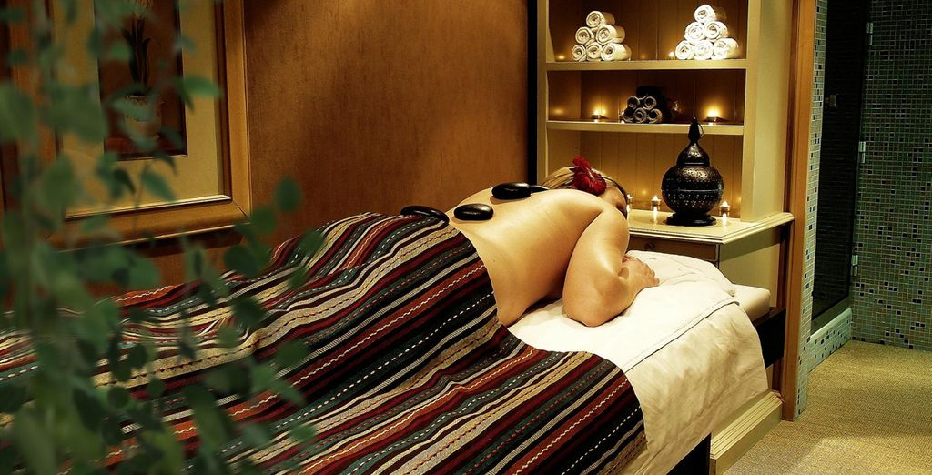 Relax and soothe your soul with a spa treatment