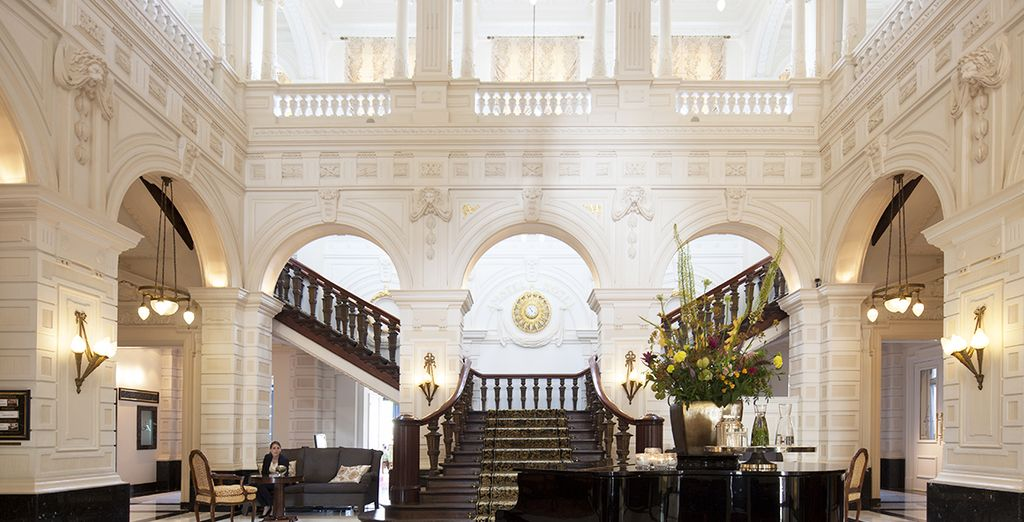 Treat yourself to a stay in a luxury hotel