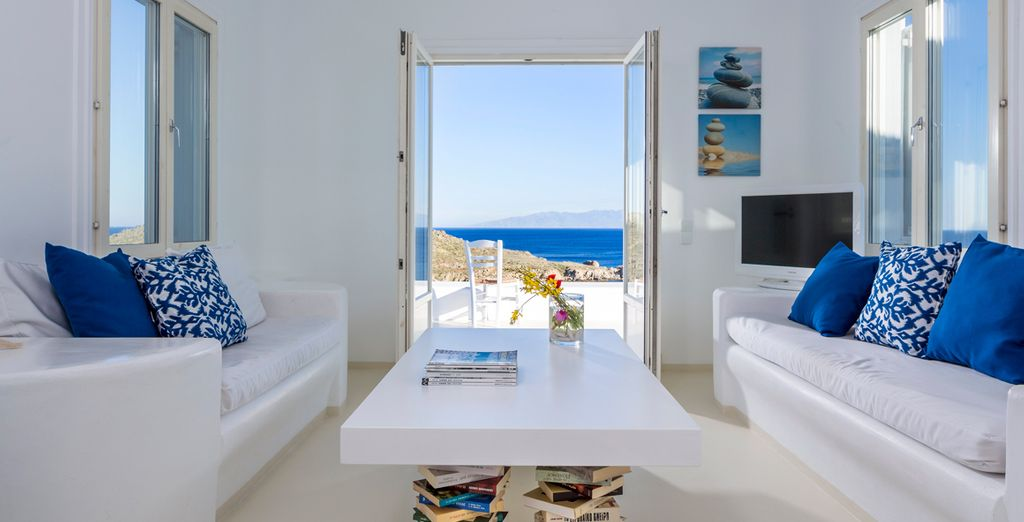 Wake up to panoramic views every morning in your Superior Sea View Villa