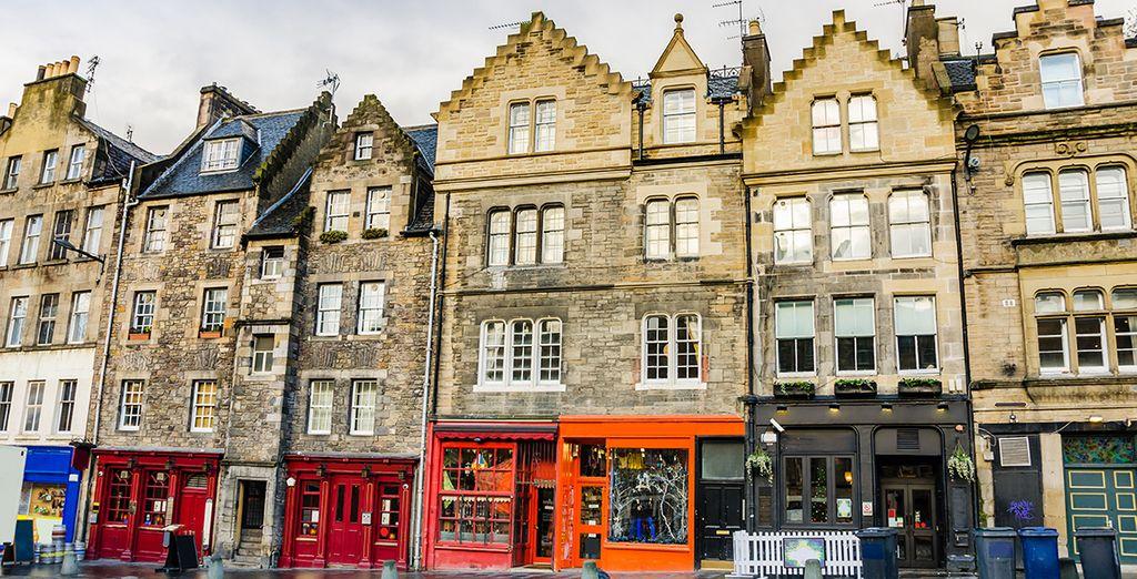 Past charming shops
