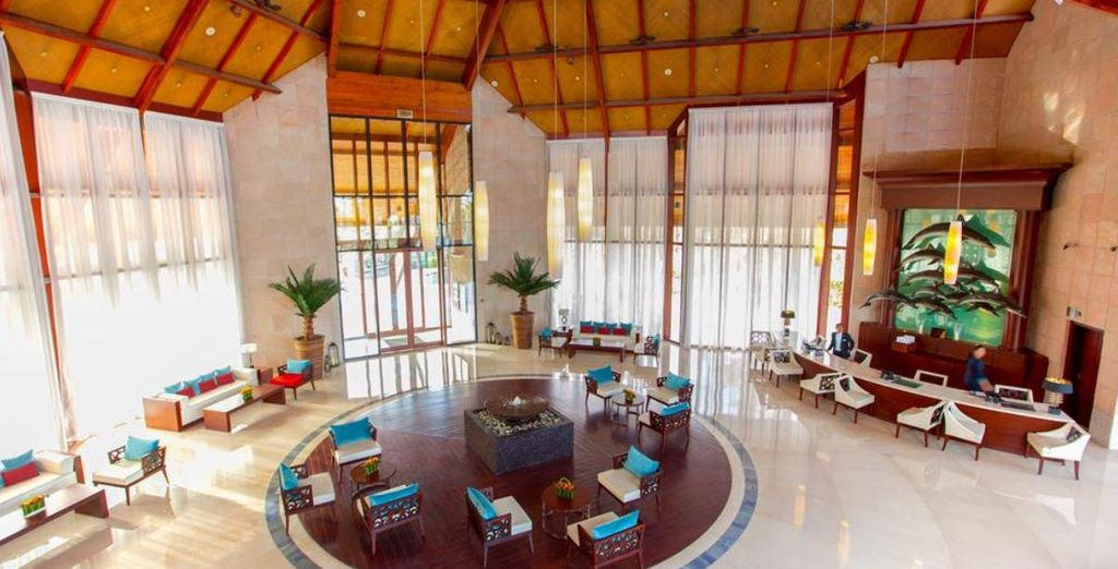 JA Palm Tree Court is a 5-star family beach resort