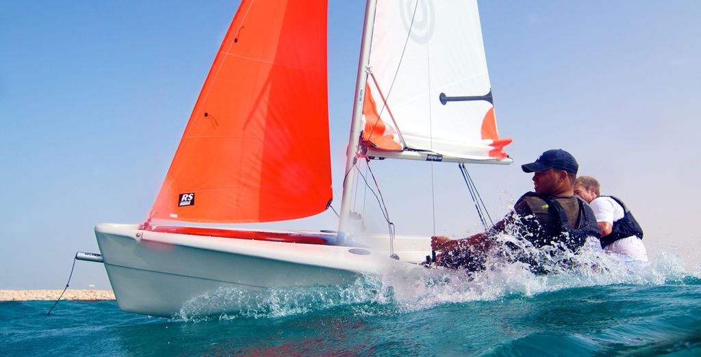 A fully functional watersports centre offers a wide range of activities