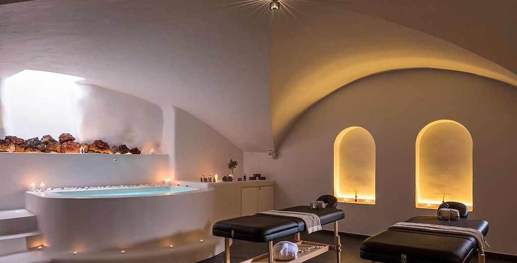 And the spa provides a range of beauty treatments