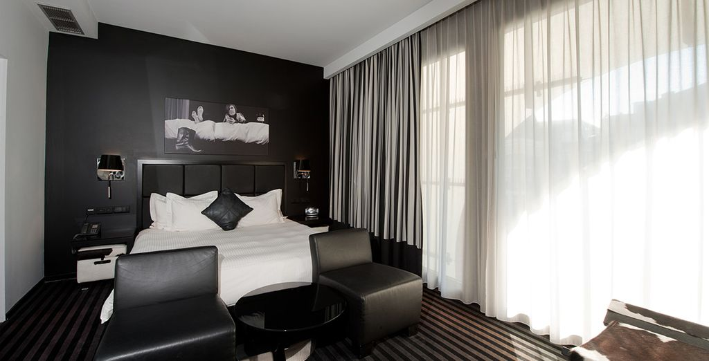Our members can enjoy a plush Deluxe Room