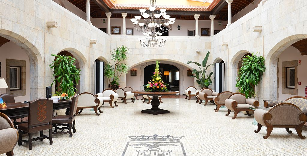 at this refined, historical 5* hotel - Hotel Fortaleza do Guincho 5* Cascais