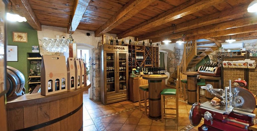 A charming new boutique, dedicated to wine!