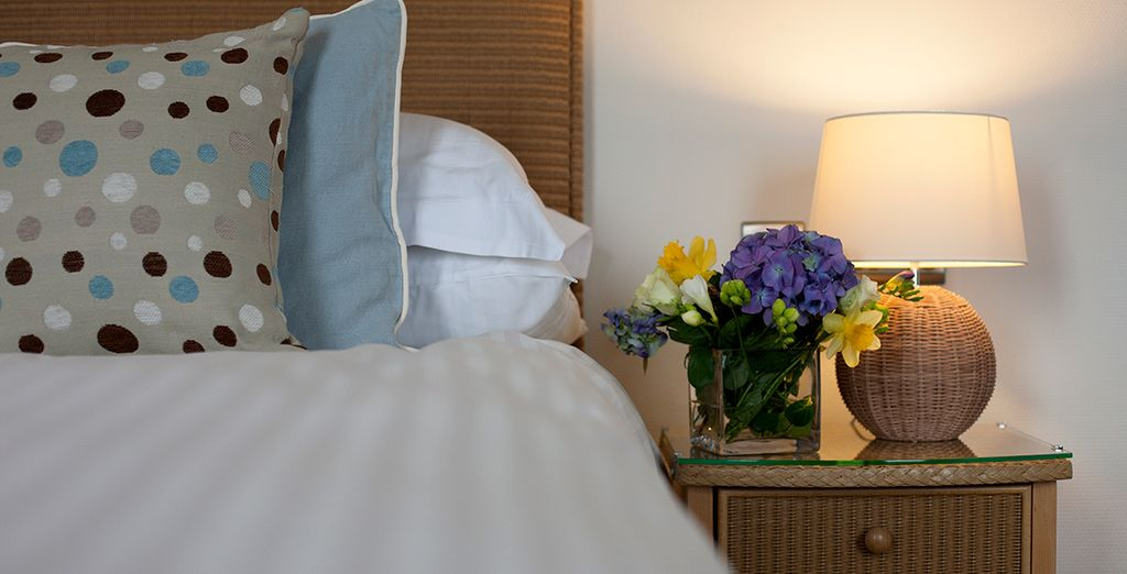 Individually-designed luxury hotel rooms and suites