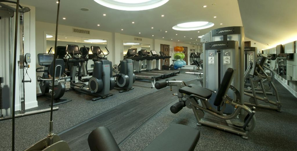 Maintain your fitness regime