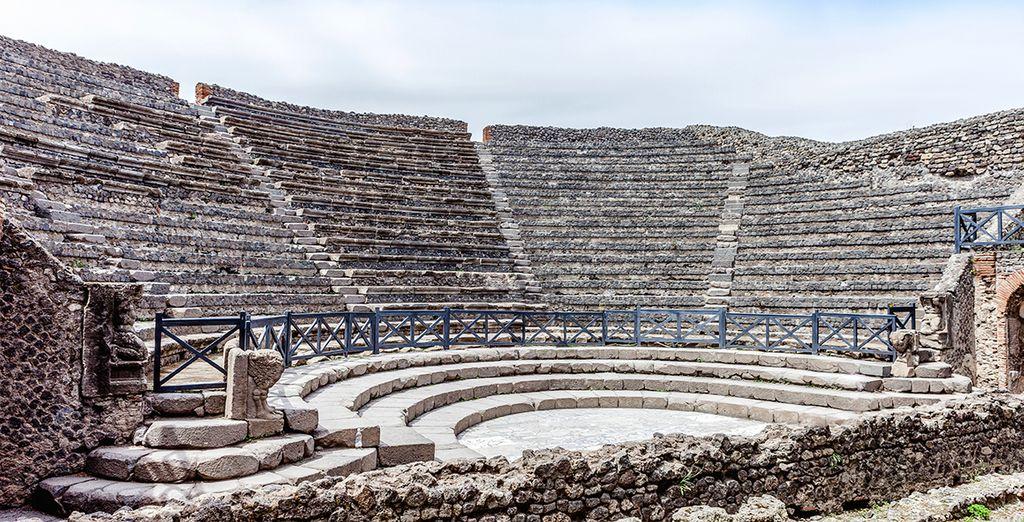 The history of Pompeii