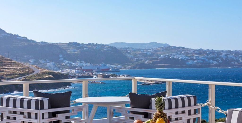 Welcome to the 5* Mykonos Princess