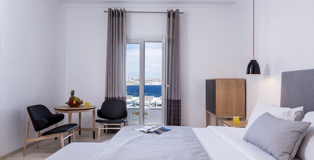 Where our members can enjoy a Superior Sea View Room