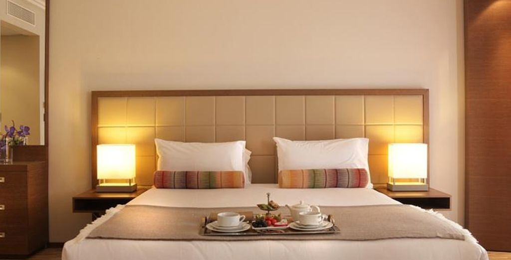 Where you can enjoy a Classic Double Room with daily breakfast