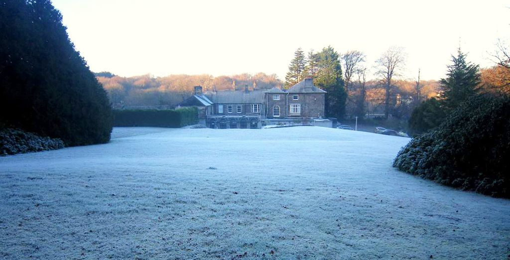 Breathe in the crisp, fresh country air as you explore the grounds