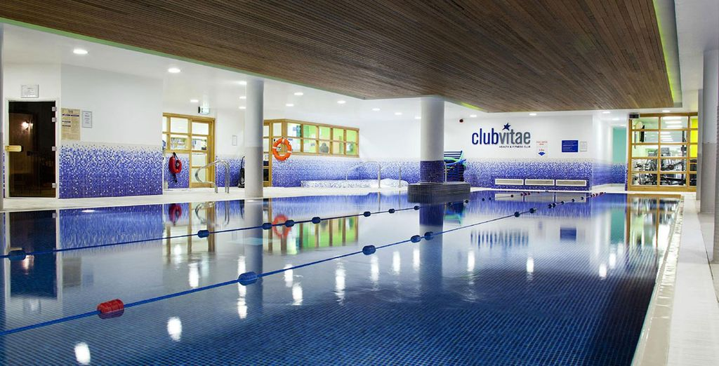 Why not enjoy a session in Club Vitae?