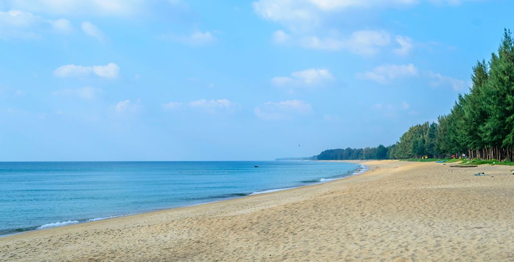 Based in one of the island's most unspoiled areas, Mai Khao