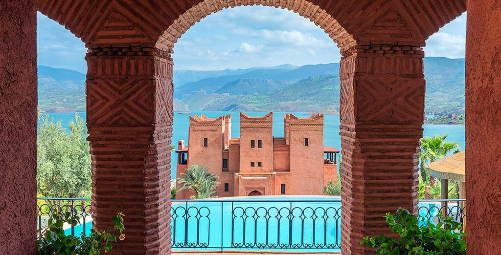 Escape to this lakeside haven of wellbeing in the Atlas Mountains
